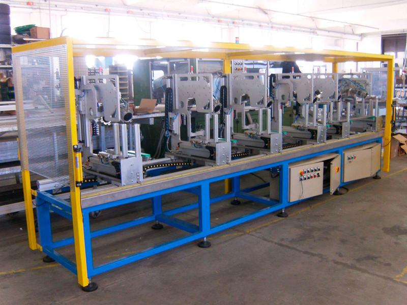 Máquina automática de Tecno System para el grapado / cosido de lamas de persianas venecianas