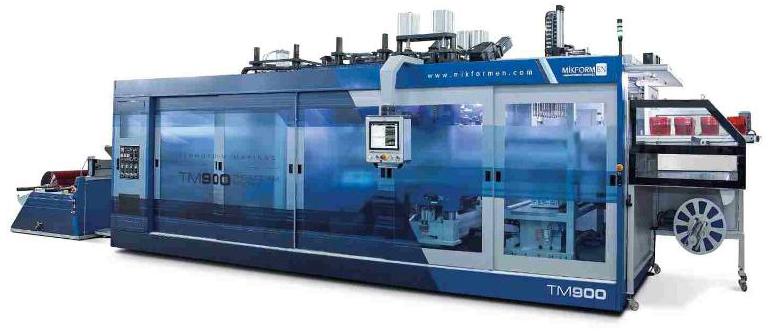 Termoformadora para producción de termoconformado TM 900