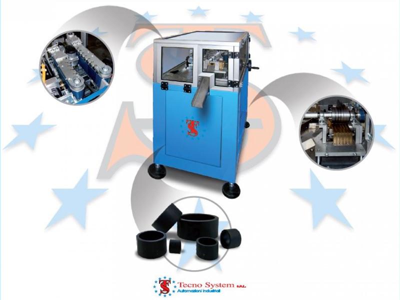 Detalles de las cortadoras giratorias para tubos de Tecno System