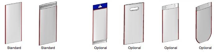 Tipos de bolsas de soldadura lateral confeccionadas con las TY-MT de Gur-Is