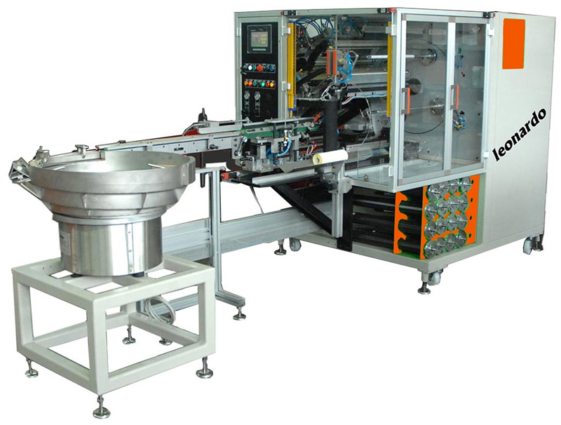 Máquina reobinadora de etiquetas Leonardo de Errepi