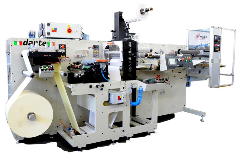 Máquina troqueladora de etiquetas adhesivas Dante de Errepi