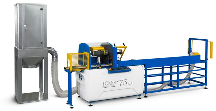 Cortadora de tubos semiautomática TCMG 175 PLUS de GA.VO. Meccanica.