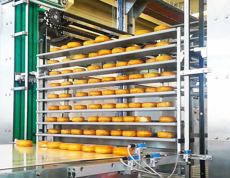 FIFO Buffer es un sistema de alimentación diseñado para almacenar filas de productos entrantes durante un periodo de tiempo establecido.