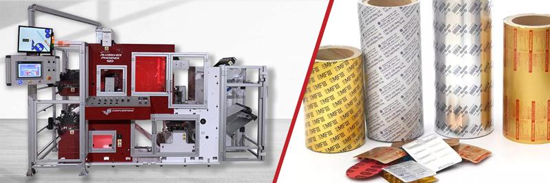 Impresoras flexográficas y digitales para láminas de aluminio