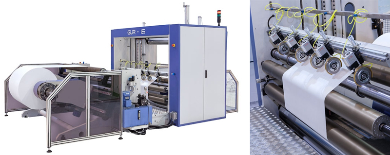 Cortadoras rebobinadoras de papel para bobinas industriales