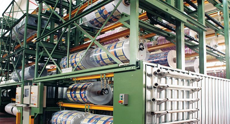 Almacén rotatorio automático para bobinas LGL Engineering
