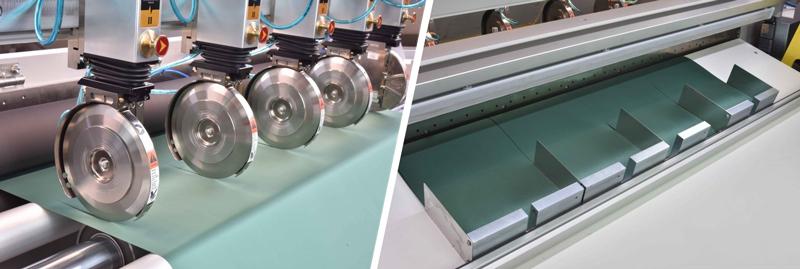 Resmadora TE de Pasquato, máquina cortadora de resmas