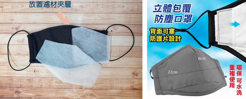 Máquinas de filtros para mascarillas reutilizables