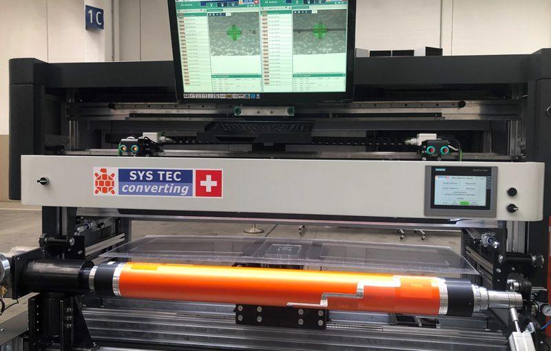 Montadora de clichés automática para impresión banda ancha