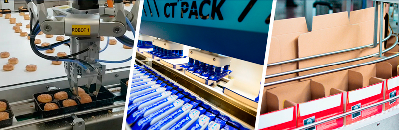 CT Pack, líneas de envasado y empaquetado automatizadas