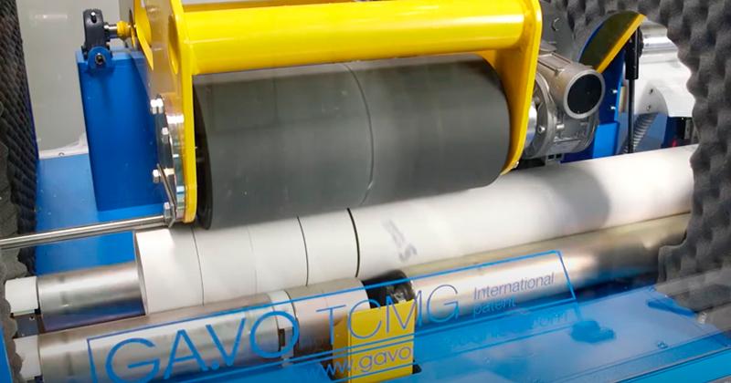 Cortadoras de tubos / mandriles de cartón, PP, PE, PVC